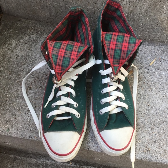 Converse Chuck Taylor All Star jingle bell high top Christmas sneakers Men's 8 9